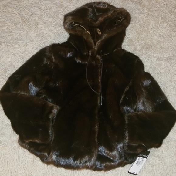 503a44fa1 Dale Dressin Jackets & Coats   Faux Fur Bomber   Poshmark